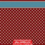 فرش مسجد تشریفاتی کاشان طرح رمضان - زمینه قرمز روناسی