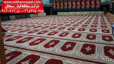 فرش محرابی مسجد طرح رضوان