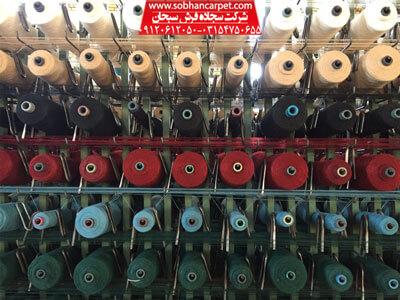 جنس نخ در تعیین قیمت فرش سجاده ای