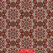 فرش سجاده ای یکپارچه قرمز