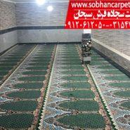نصب سجاده فرش مسجدی