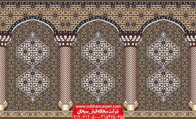 فرش سجاده مسجد با طرح بیجار
