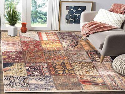 نمونه ای از فرش چهل تکه